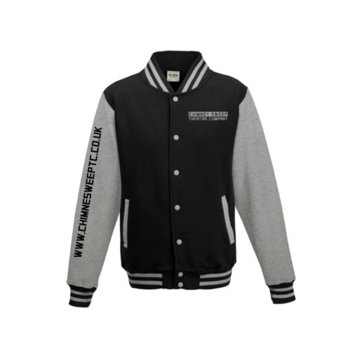 Chimney Sweep Black Varsity Jacket