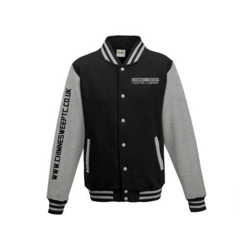 Chimney Sweep Black Varsity Jacket